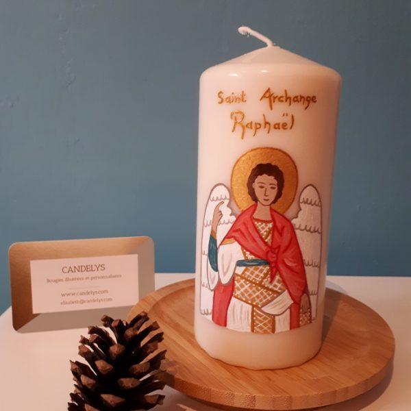 Saint Archange Raphaël Candelys Bougie