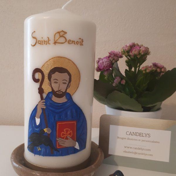Saint Benoît Candelys Bougie