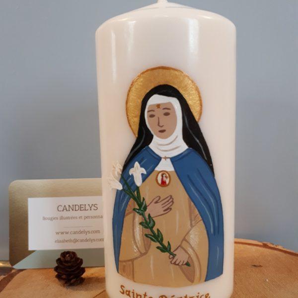 Sainte Béatrice Candelys Bougie