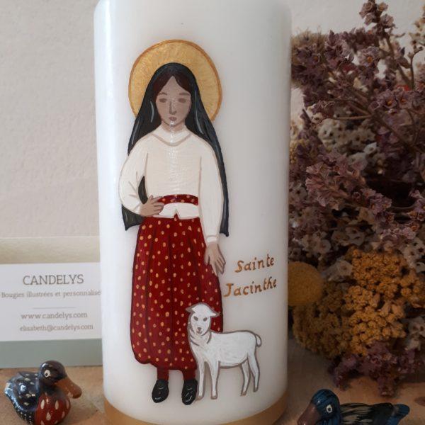 Sainte Jacinthe de Fatima Candelys Bougie