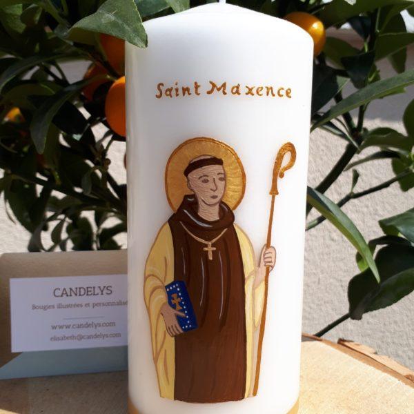 Saint Maxence Candelys Bougie