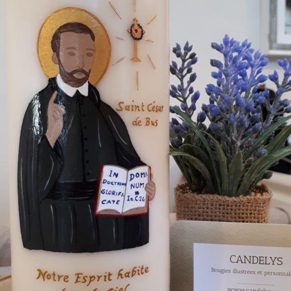 Saint César de Bus Candelys Bougie