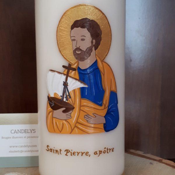 Saint Pierre Apôtre Candelys Bougie