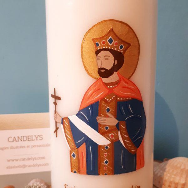 Saint Constantin Candelys Bougie
