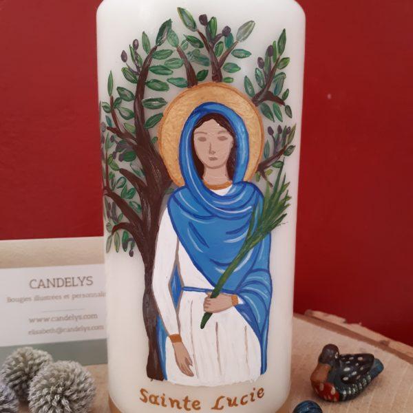 Sainte Lucie Candelys bougie
