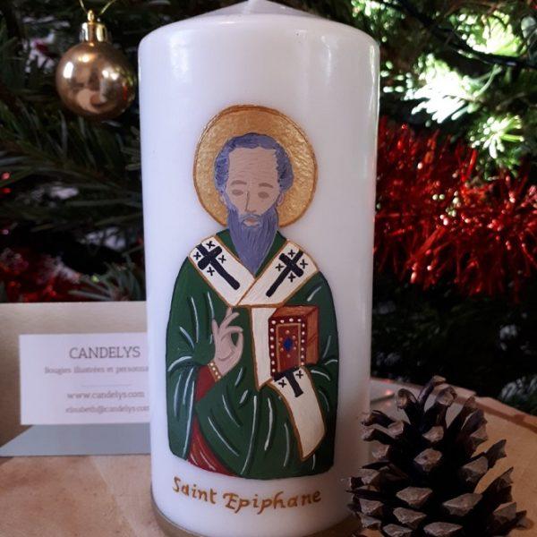Saint Epiphane Candelys Bougie
