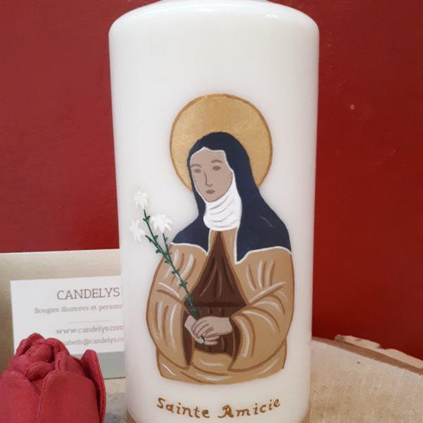 Sainte Amicie Candelys Bougie