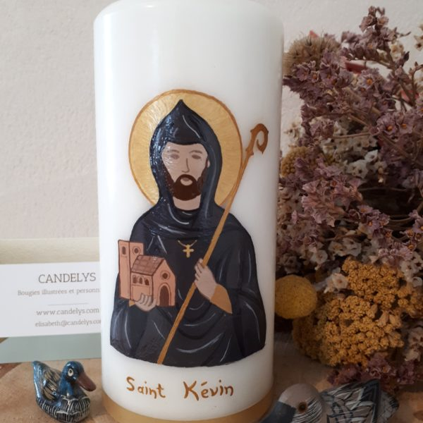 Saint Kévin Candelys Bougie