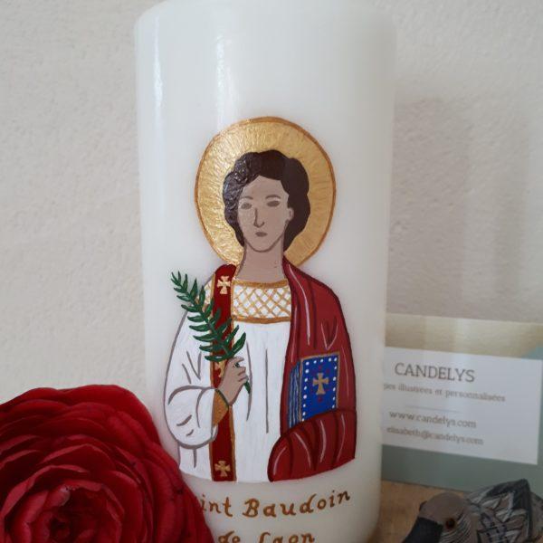 Saint Baudoin de Laon Candelys Bougie