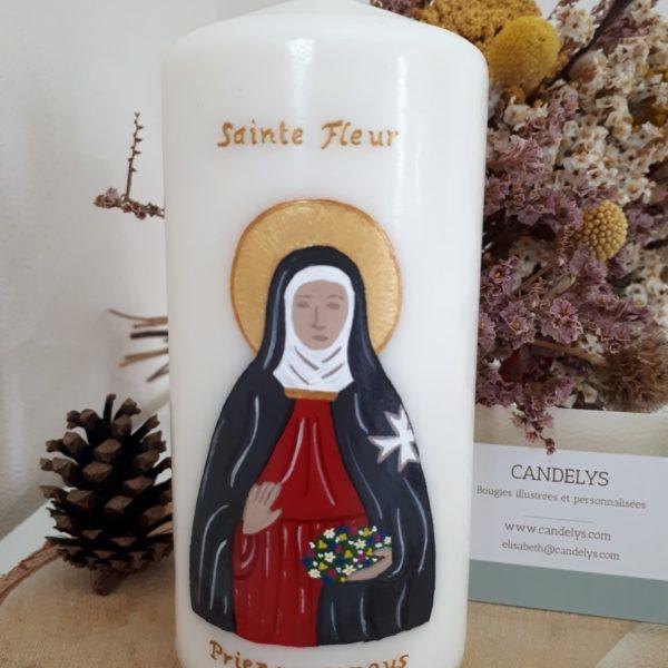 Sainte Fleur Candelys Bougie